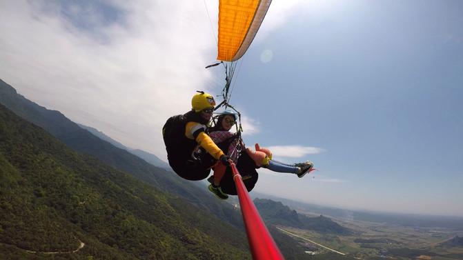 请慷慨地给自己一些放飞自我的时间∣滑翔伞 – 南宁游记攻略插图3
