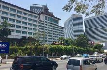 缅甸仰光街景