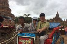 小马车游览缅甸蒲甘