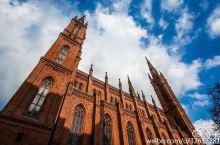 #元旦去哪玩# 威斯巴登地标,宏伟高大的集市教堂