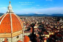 爬上圣母百花大教堂,俯瞰佛罗伦萨