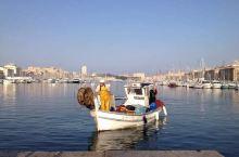 在马赛旧港买海鲜