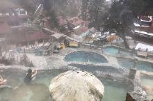 2月份的海螺沟温泉游
