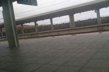 下雨了,汕尾站的人很少。