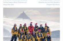 收到Ocean Nova探险队的圣诞祝福