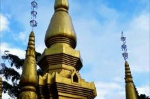 佛意勐海          西双版纳是一个佛教盛行的地方,勐海的乡村城镇也都有大小各异的佛寺,这里的