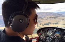 #向往的生活 做自己的Captain Cool!瓦纳卡开飞机