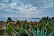 埃兹小镇山顶植物园的超美风光