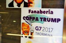 差点撞见开G7峰会的川普