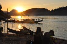 湄公河落日