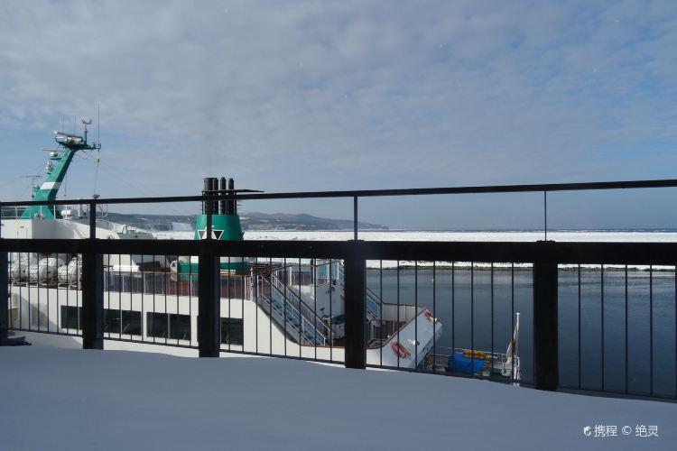 網走流冰觀光破冰船極光號2