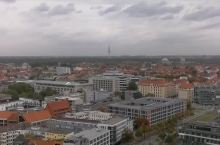 市政厅顶楼看风景