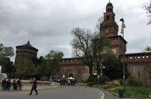 意大利米兰斯福扎尔城堡