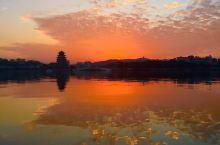 人悦黄昏后,夕染东江旁,大美惠州。