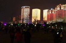 汕头时代广场电光秀