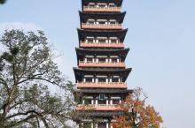 深秋的大明寺