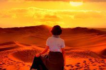 在世界上离城市最近的沙漠迎接一场绝美日落