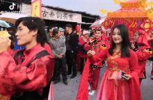 钦州蚝情节花轿婚礼