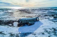 世界末日般的苍凉 冰岛飞机残骸
