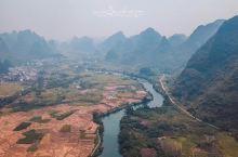 航拍桂林阳朔美景,像画一样的风景