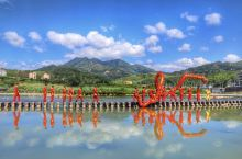 只有在浙江这个小村落才能见到最高难度的碇步龙表演