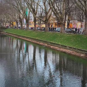 莱茵河畔散步道旅游景点攻略图