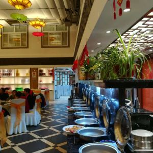 黄山西海饭店自助餐厅旅游景点攻略图