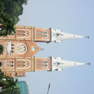 西贡圣母大教堂旅游景点攻略图