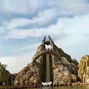 长沙方特东方神画旅游景点攻略图