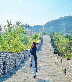 [古北水镇游记图片] 跟着祖国母亲生日之际去北京爬长城赏红叶