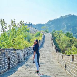 古北水镇游记图文-跟着祖国母亲生日之际去北京爬长城赏红叶