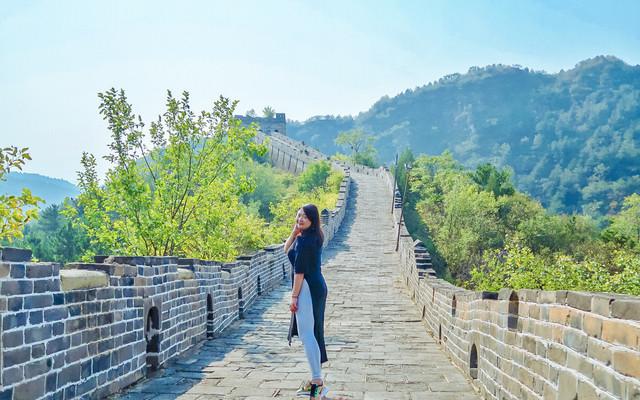 跟着祖国母亲生日之际去北京爬长城赏红叶