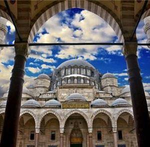 苏莱曼清真寺旅游景点攻略图