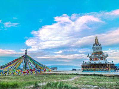 Qinghai Lake Erlangjian Scenic Area