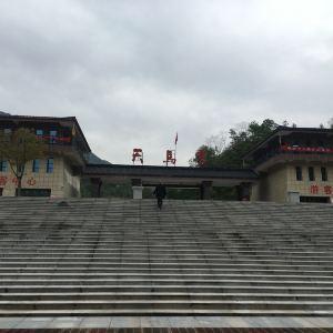 英山县天马寨风景区旅游景点攻略图