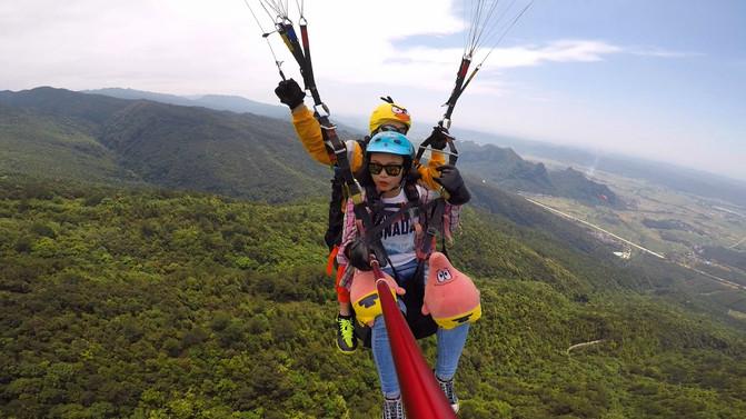 请慷慨地给自己一些放飞自我的时间∣滑翔伞 – 南宁游记攻略插图1