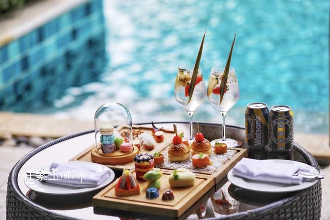 假期就是在三亚泡酒店,法式浪漫看过来,漂浮早餐有惊喜 - 三亚游记攻略