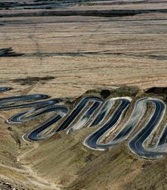 [新疆游记图片] 新疆盘龙古道,横卧于帕米尔高原上的一条巨龙