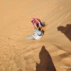 红沙丘旅游景点攻略图
