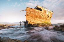 南非大西洋边搁浅的破船,到底发生过怎样的奇幻故事#元旦去那玩