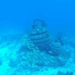 坎昆水下博物馆旅游景点攻略图