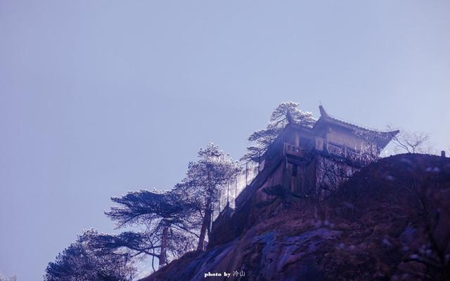 黄山,冬日雨后绝美山水画