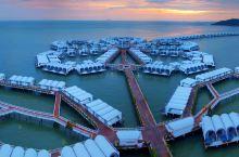马来西亚的棕榈岛风格酒店