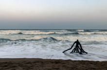 海边过年,夕阳相伴