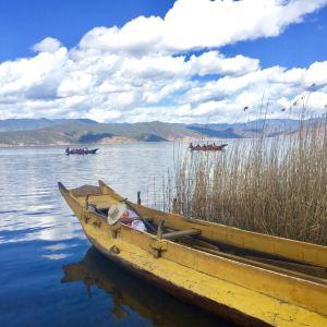 泸沽湖尼塞鸟岛游船旅游景点攻略图