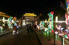 渭南韩城文庙夜景之三