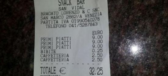 Snack Bar San Vidal