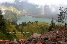 落在火山口的彩虹,林加尼火山奇遇记