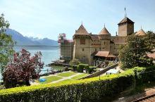 日内瓦胡畔边的中世纪骑士城堡
