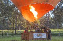 #元旦去哪玩#乘坐热气球看昆士兰的美丽田园